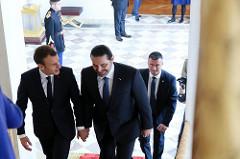 2017-11-18: Paris, Elysée, Visite de Saad Hariri, Président du Conseil des ministres du Liban