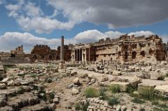 Baalbek Roman Temple Ruins
