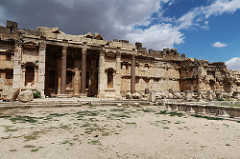 Baalbek Temple Ruins