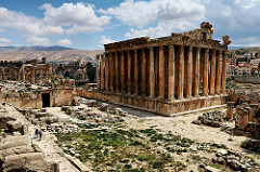 Temple of Bacchus in Baalbek