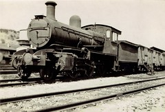 Haifa-Beirut-Tripoli Railway - HBT 2-6-0 steam locomotive Nr. 70219 (North British Locomotive Works, Glasgow 1909)