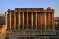 The Temple of Bacchus, Baalbek, Lebanon