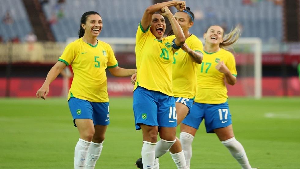 البرازيلية مارتا تدخل تاريخ منافسات كرة القدم في الألعاب الأولمبية
