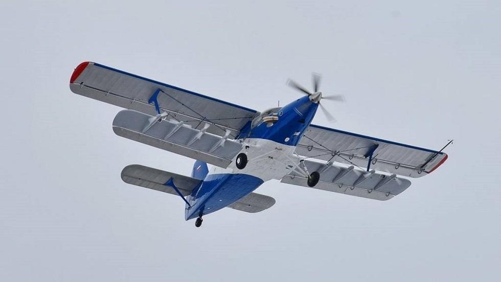 طائرة فائقة الخفة تشارك في البرنامج الجوي لمعرض