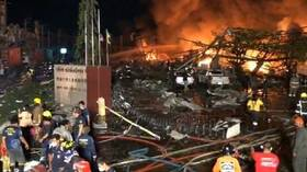 انفجار عنيف يهز مصنع كيميائيات في تايلاند