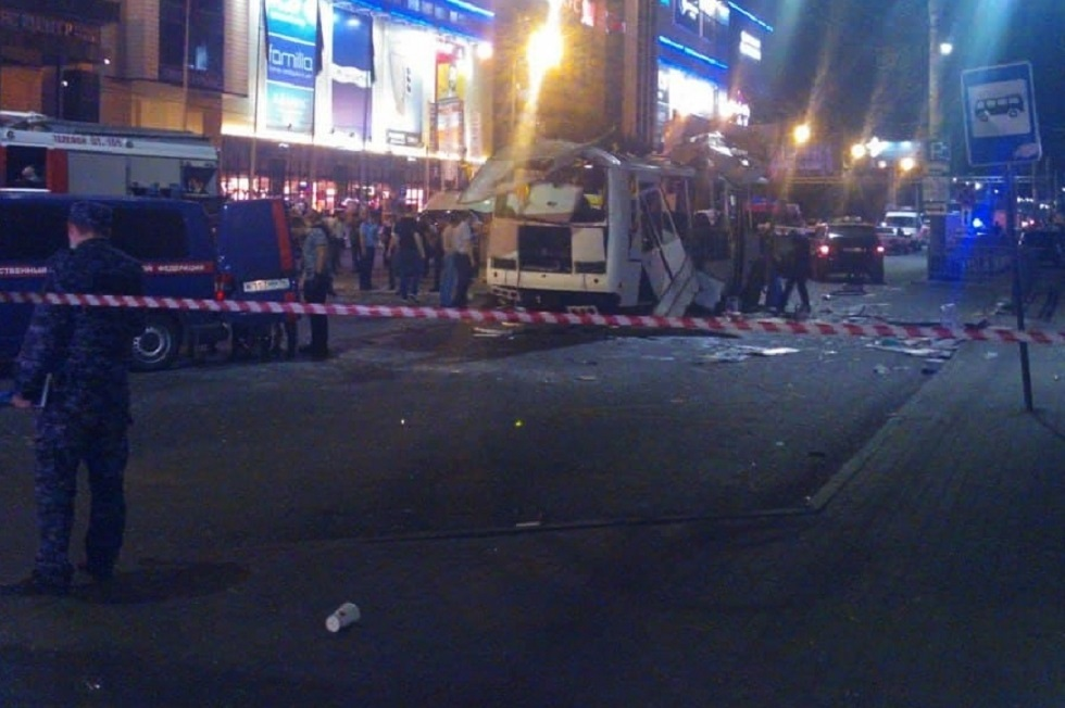 مقتل امرأة وإصابة 16 آخرين بانفجار في حافلة ركاب بمدينة فورونيج الروسية