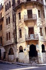 War damaged Beirut by Basile Vé